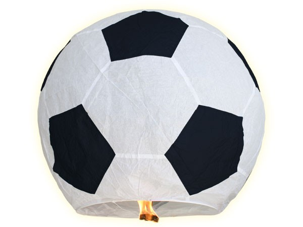 Lanterne volante forme ballon de foot football sport for Fenetre volante
