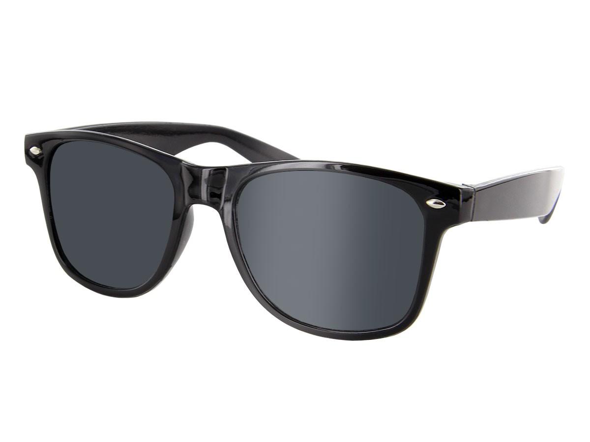 retro sonnenbrille nerd brille hornbrillen party atzen streber klar schwarz ebay. Black Bedroom Furniture Sets. Home Design Ideas