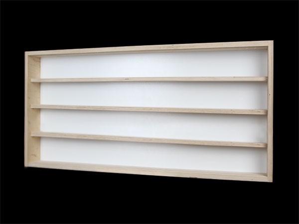 Sammelkasten Setzkasten Vitrine Holz Glas ~ V70 4 Vitrine Setzkasten Märklin H0 70 cm Wandvitrine Sammelkasten