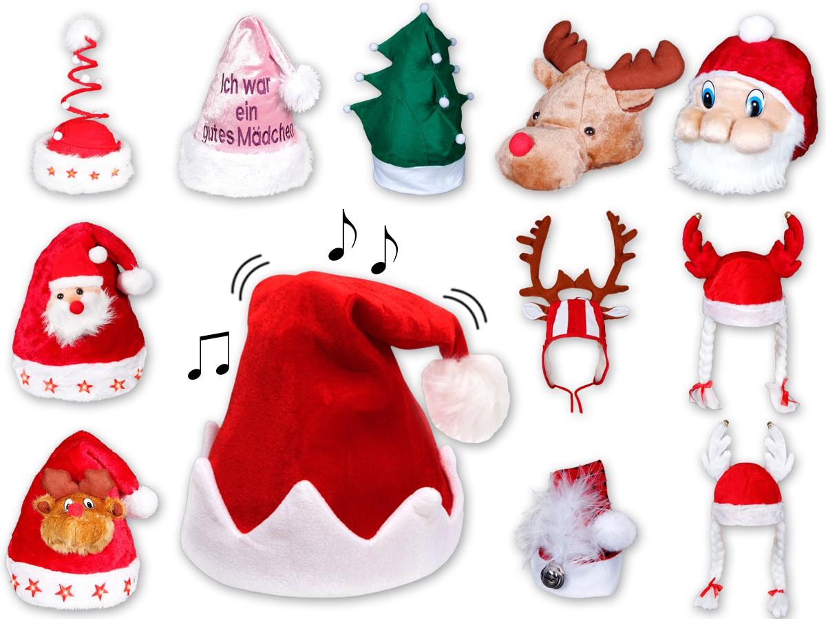 Weihnachtsmuetze-Nikolausmuetze-Fun-3D-Weihnachtsmuetzen-lustige-Nikolausmuetzen