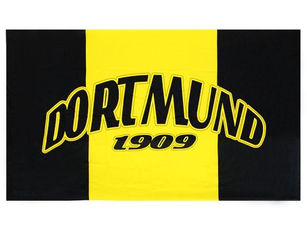 Dortmund fahne garten flagge fan artikel fu ball fahnen for Zimmer deko fussball