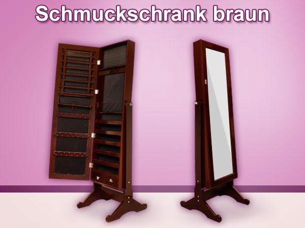 spiegelschrank schmuckschrank spiegel schrank schmuck ohrringe ring ringe kette ebay. Black Bedroom Furniture Sets. Home Design Ideas