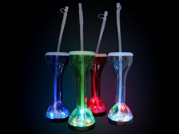 led party glas longdrink blinkglas cocktail becher leuchtglas verschlie bar 09 ebay. Black Bedroom Furniture Sets. Home Design Ideas