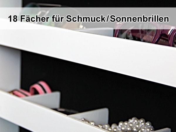 spiegel schrank schmuck schrank ohr ringe schmuck kasten ketten vit04 braun gro ebay. Black Bedroom Furniture Sets. Home Design Ideas