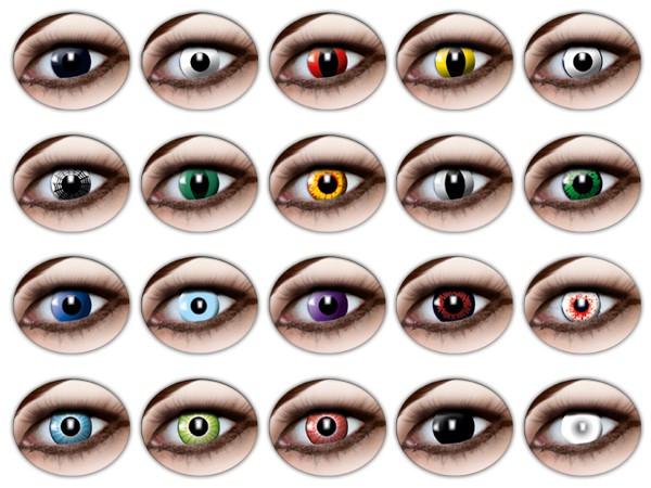 farbige kontaktlinsen im glasbeh lter. Black Bedroom Furniture Sets. Home Design Ideas