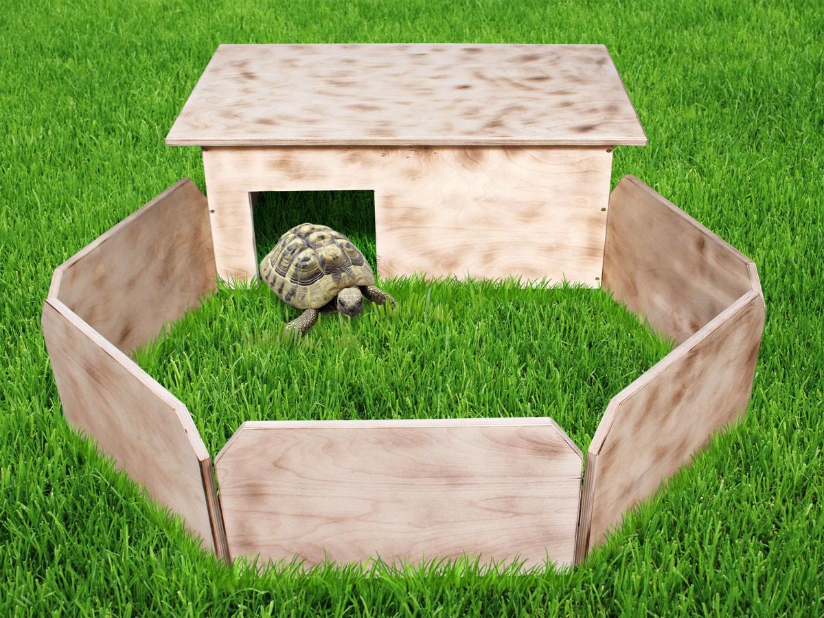 schildkr ten haus auslauf xxl handgefertigt terrarium schildkr ten schutz haus ebay. Black Bedroom Furniture Sets. Home Design Ideas