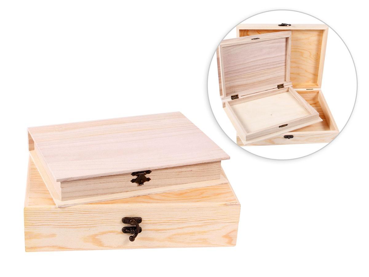 holzbox mit deckel holzschatulle truhe schatz tee box geschenk box holz kiste ebay