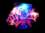 Blinki Anstecker Blinky Brosche Pin Button Tiger wild 182 Bild 2