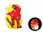 Blinki Anstecker Blinky Brosche Pin Button Tyranosaurus 185