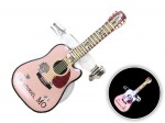 Blinki Anstecker Blinky Brosche Pin Button Gitarre 187