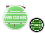 Blinki Anstecker Blinky Brosche Pin Button Werder 166