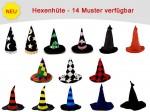 Karnevalshüte, verrückte Hüte, Partyhut, Zaubererhut, Karnevalshut, Hexenhut, alle Designs