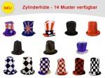Karnevalshüte verrückte Hüte Partyhut Zylinderhut Karnevalshut Zylinderhüte alle Designs