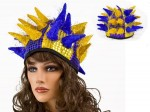 Karnevalshüte verrückte Hüte Partyhut Jecken Harlekin Karnevalshut Wikinger Stachelhut alle Designs Bild 7