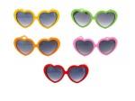 Schlager Sonnenbrille Lolita 80er Jahre Herzbrille V-120