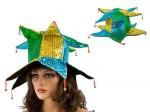Karnevalshüte verrückte Hüte Partyhut Jecken Harlekin Karnevalshut Joker alle Designs Bild 2