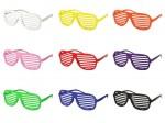 Atzenbrille Shutter Shades Sonnenbrille ohne Glas V-820