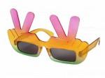 Sonnenbrille Funbrille Finger Peace Partybrille 28