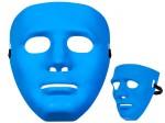 Totenkopfmaske Vendetta Maske Karneval Saw Fasching Maske Blue Mask Kostüme Geist Bild 4