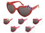 Schlager Sonnenbrille Lolita 80er Jahre Retro Herzbrille mit Schleife F-037
