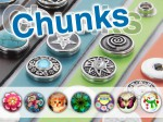 Chunk Bead Buttons