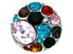 Chunk Druckknopf Chunks Snap Bead Buttons für Chunks Leder Armband Bild 4
