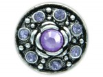 Chunk Druckknopf Chunks Snap Bead Buttons für Chunks Leder Armband Bild 7