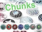 Chunk Druckknopf Chunks Snap Bead Buttons für Chunks Leder Armband