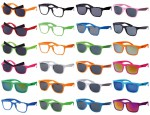 Wayfarer Nerd Brille Sonnenbrille Retrobrille Klare Gläser Atzenbrille