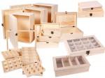 Alsino Sammler Geschenke Box Holz-Schatulle Truhe Schatzkiste Verkaufshilfe Tee-Box Holz-Kiste