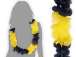 Hawaiiketten Dortmund schwarz gelb Blumenketten Hawaii Ketten 27
