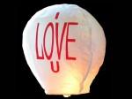 5 Stk Himmelslaternen Skylaterne für Verliebte I Love U Bild 2