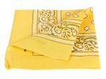 Bandana gelb paisley Zandana 100% Cotton 91
