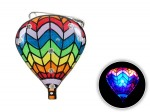 Blinki Anstecker Blinky Brosche Pin Button Heißluft Ballon 128