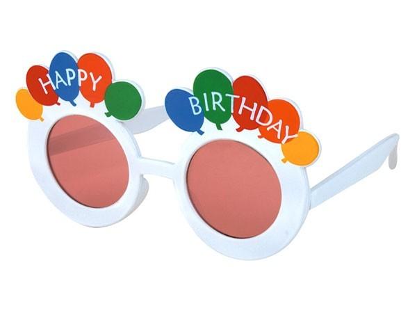 Sonnenbrille Funbrille Partybrille Geburtstag bunt 10