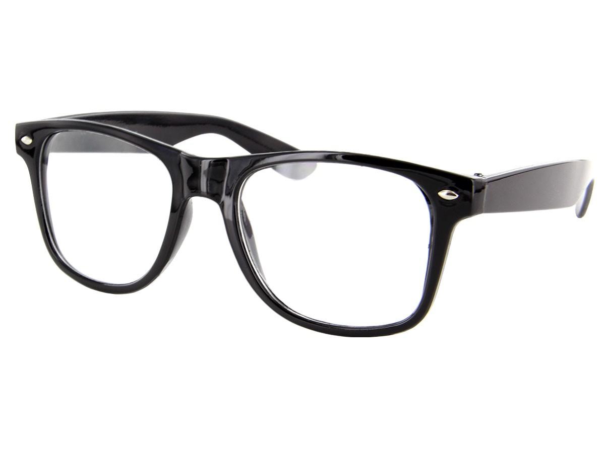 retro nerd brille klar modell v 816c. Black Bedroom Furniture Sets. Home Design Ideas