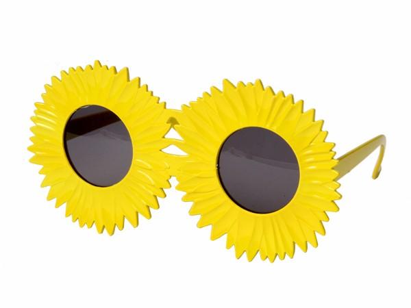 sonnenbrille funbrille sonnenblume partybrille 31. Black Bedroom Furniture Sets. Home Design Ideas