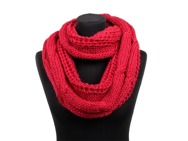 comment tricoter un foulard circulaire