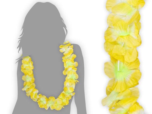 hawaiiketten gr n wei zu gelb blumenketten 34. Black Bedroom Furniture Sets. Home Design Ideas