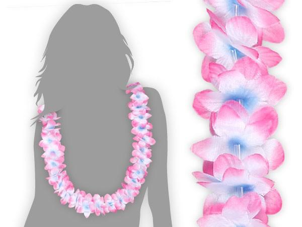 hawaiiketten blau wei zu pink blumenketten 18. Black Bedroom Furniture Sets. Home Design Ideas