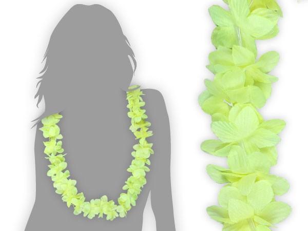 hawaiiketten neon gelb blumenketten hawaii kette 07. Black Bedroom Furniture Sets. Home Design Ideas