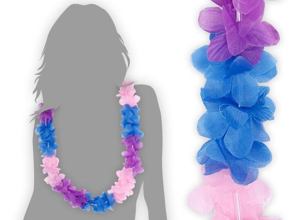 hawaiiketten blau pink lila blumenketten hawaii 23. Black Bedroom Furniture Sets. Home Design Ideas