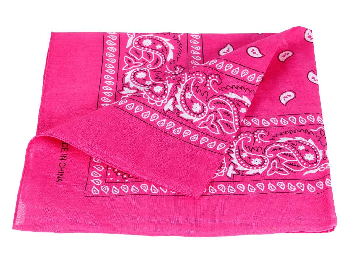 bandana pink paisley zandana 100 cotton 11. Black Bedroom Furniture Sets. Home Design Ideas