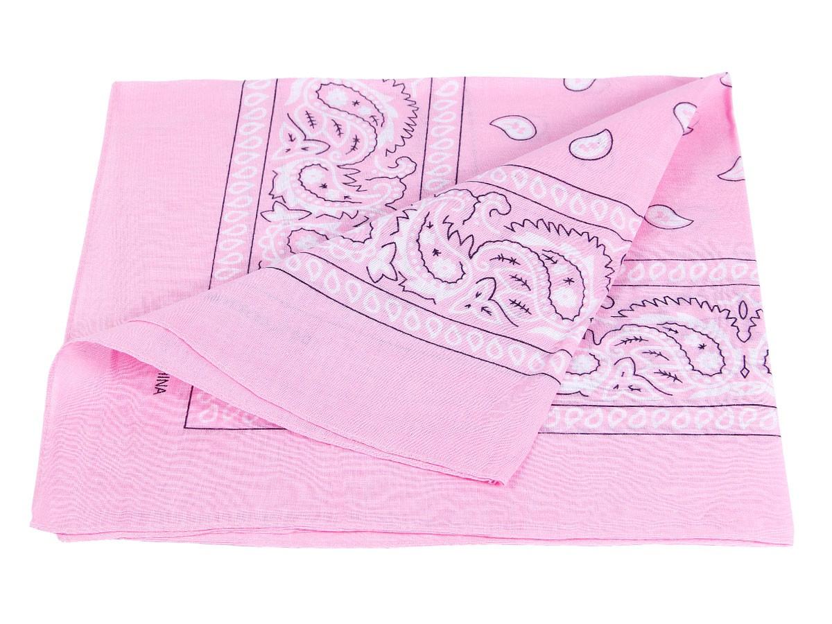 bandana rosa paisley zandana 100 cotton 92. Black Bedroom Furniture Sets. Home Design Ideas